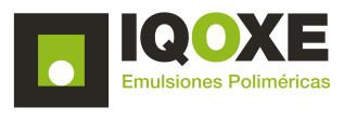 IQOXE Emulsiones Poliméricas Logo